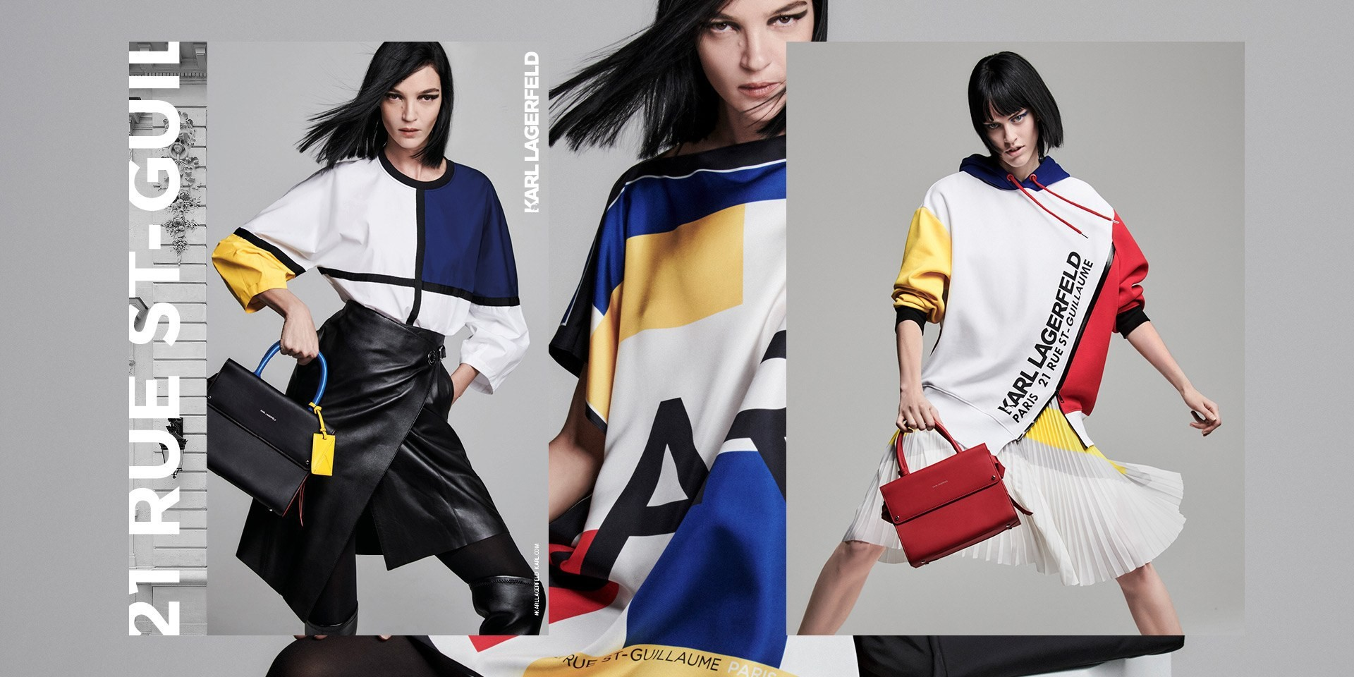 "Nowa wiosenna kampania Karl Lagerfeld ""21 Rue Saint-Guillaume"""