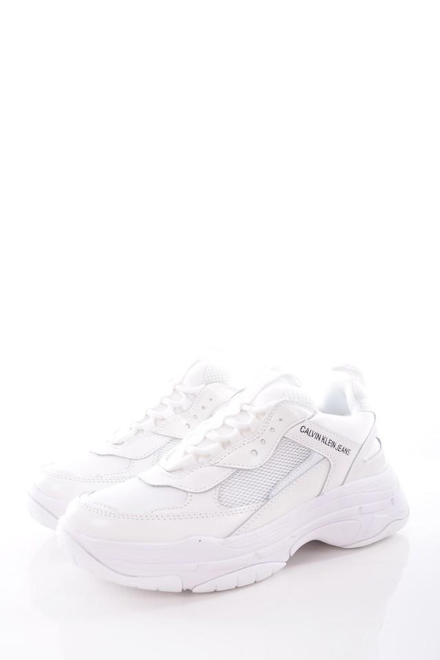 Sneakersy MAYA LOW TOP WHITE CALVIN KLEIN JEANS
