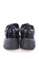 Sneakersy MAYA LOW TOP BLACK CALVIN KLEIN JEANS