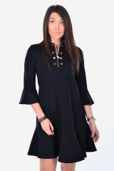 Sukienka DRESS CHAREF BLACK SILVIAN HEACH