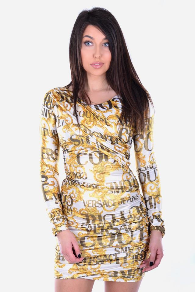 Sukienka LYCRA PRINT SPROUS BAROQUE VERSACE JEANS COUTURE
