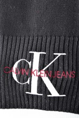 Szal J BASIC WOMEN KNITTED BLACK CALVIN KLEIN JEANS