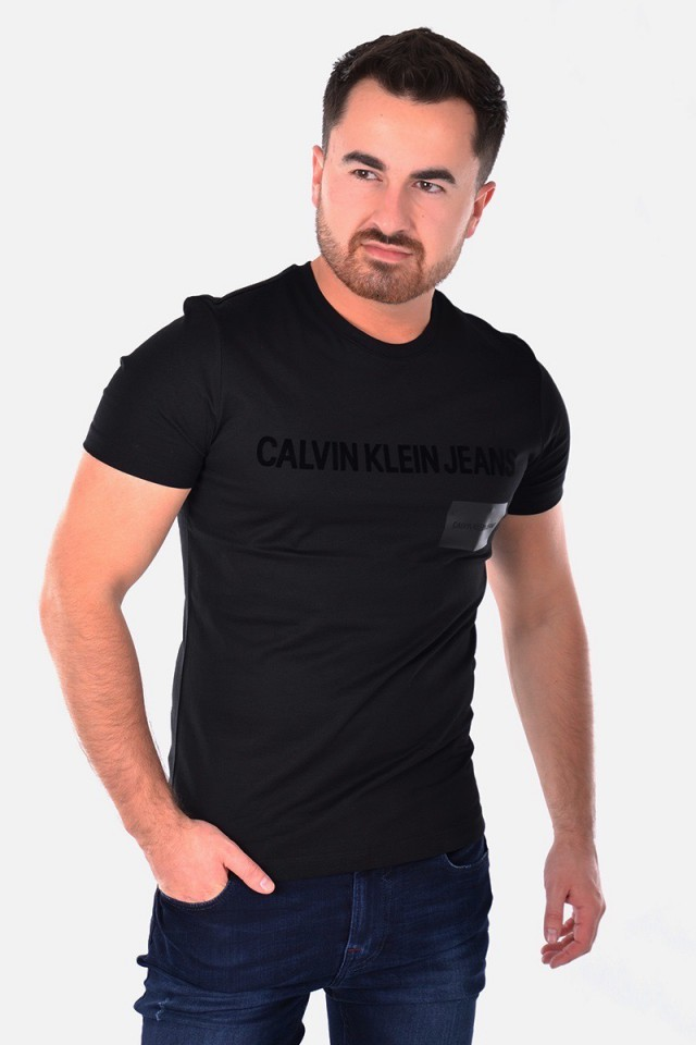 T-shirt INSTITUTIONAL BOX LOGO TEE CALVIN KLEIN JEANS