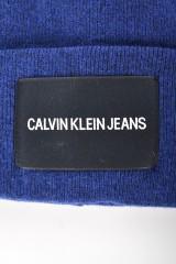 Czapka J CKJ BEANIE M BLUE CALVIN KLEIN JEANS