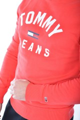 Bluza TJM ESSENTIAL FLAG CREW TOMMY JEANS