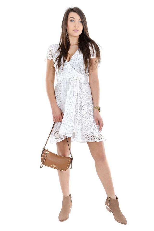Sukienka LACE WHITE MICHAEL KORS