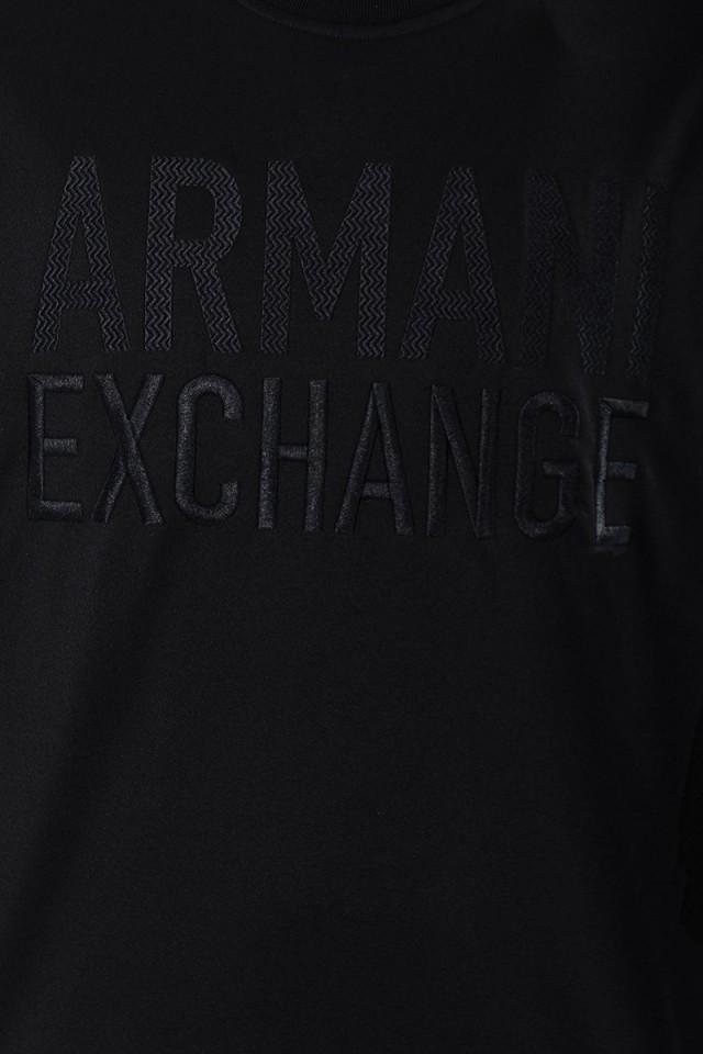 Bluza SHINE BLACK ARMANI EXCHANGE