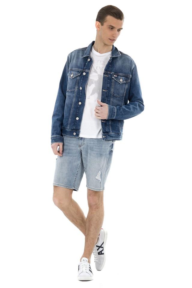Kurtka jeansowa REGULAR TRUCKER JACKET DENIM TOMMY JEANS