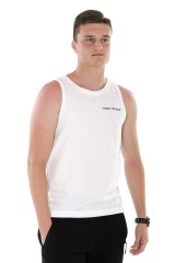Top TJM TANK WHITE TOMMY JEANS