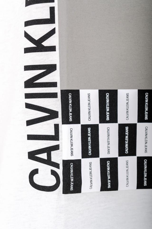 T-shirt PALM PRINT CALVIN KLEIN JEANS