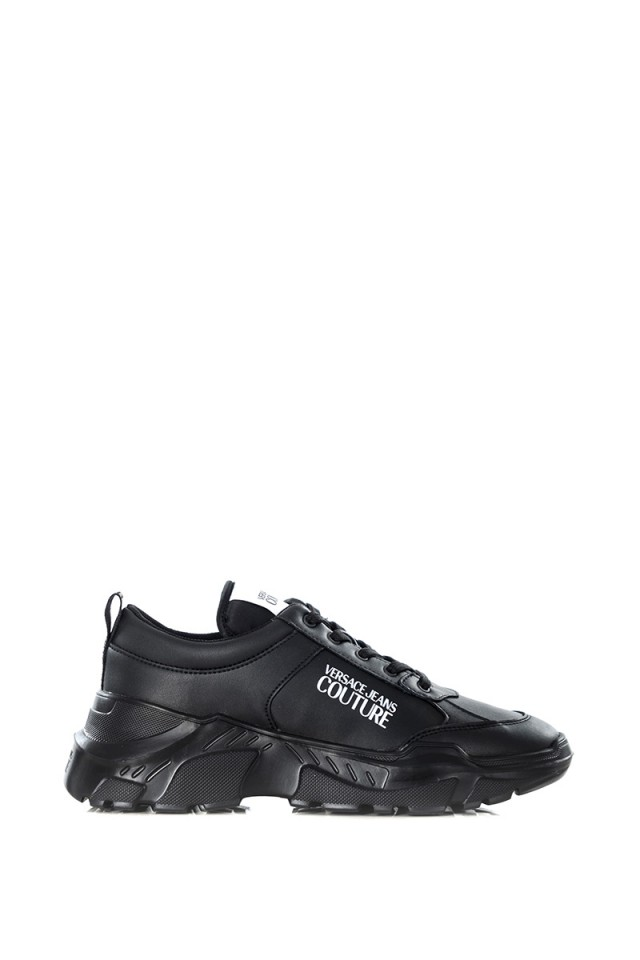 Sneakersy FONDO SPEED ALL BLACK VERSACE JEANS COUTURE