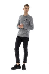Sweter TWISTED YARN LOGO CALVIN KLEIN JEANS