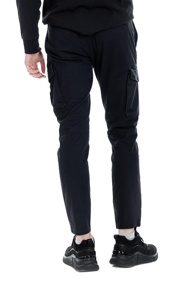 Spodnie materiałowe WASHED PEACHED CALVIN KLEIN JEANS