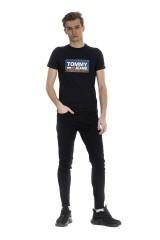 T-shirt czarny STRETCH TEE TOMMY JEANS