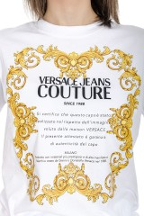 T-shirt biały JERSEY MOUSE VERSACE JEANS COUTURE