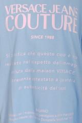 T-shirt OVER GARANZIA BLUE VERSACE JEANS COUTURE