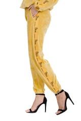 Dres welurowy żółty GOLD KILLER