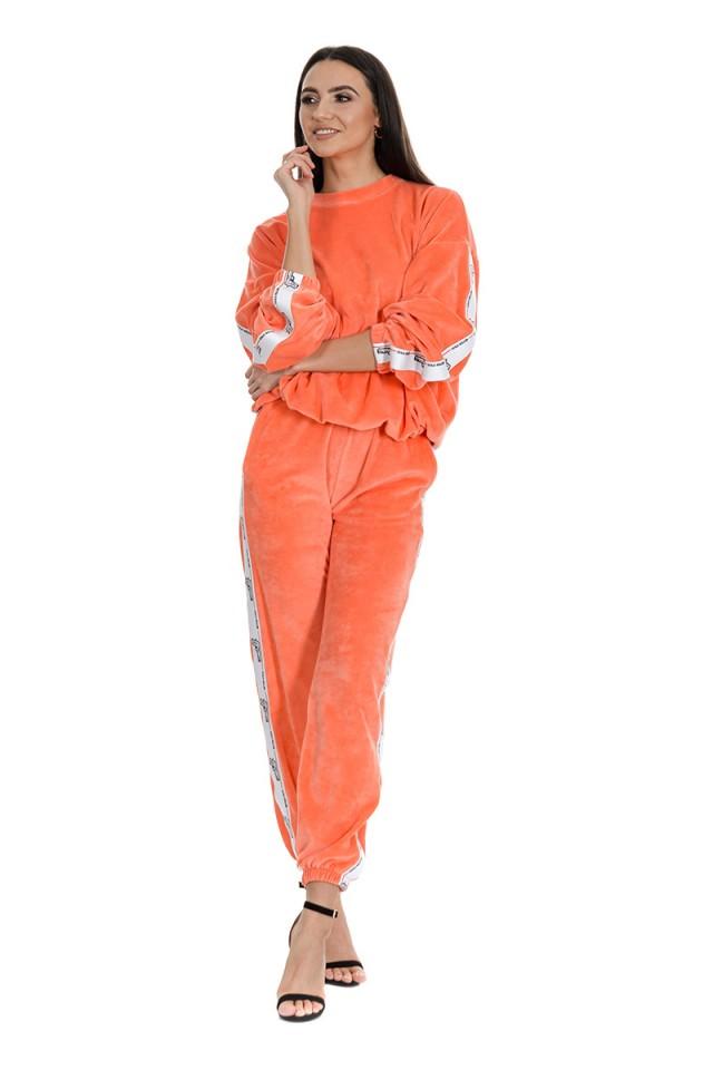 Dres welurowy pomarańczowy GOLD KILLER