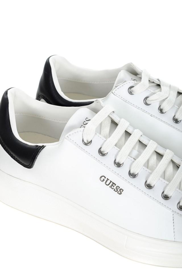 Sneakersy białe z logo SALERNO GUESS