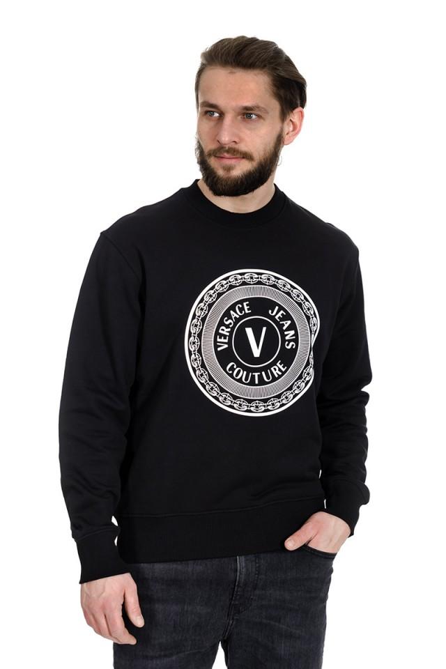 Bluza wkładana z logo VERSACE JEANS COUTURE