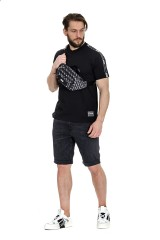 T-shirt czarny VERSACE JEANS COUTURE