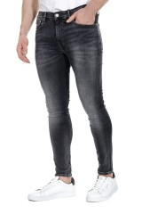 Spodnie jeansowe szare CALVIN KLEIN JEANS