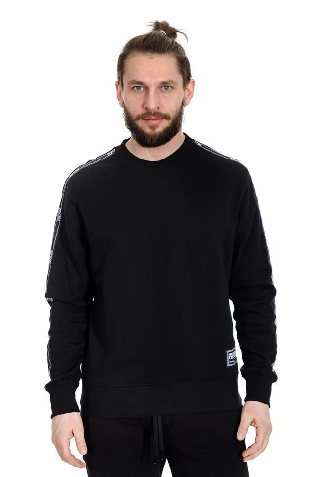 Bluza wkładana z logo na rękawach VERSACE JEANS COUTURE