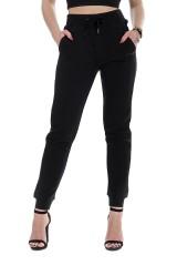 Spodnie dresowe z logo czarne CALVIN KLEIN JEANS