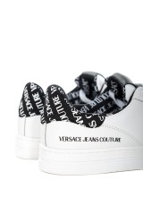 Sneakersy białe z logo VERSACE JEANS COUTURE