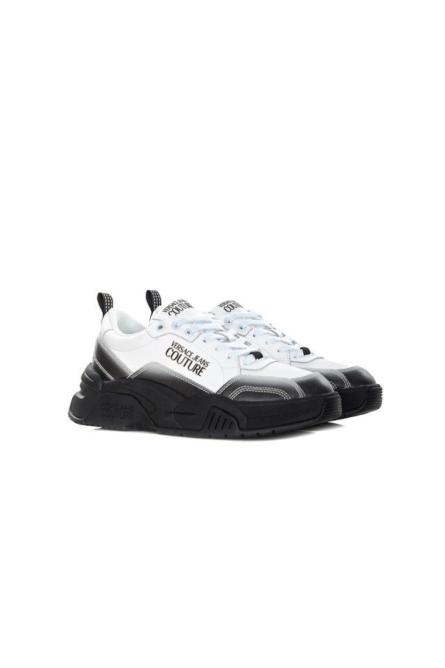 Sneakersy białe VERSACE JEANS COUTURE