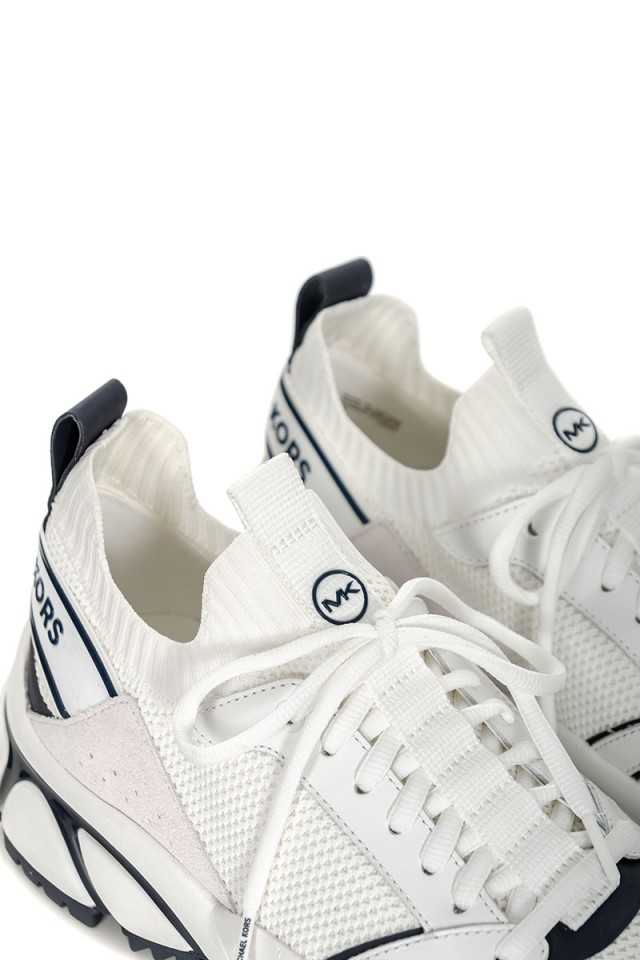 Sneakersy białe LUCAS MICHAEL KORS