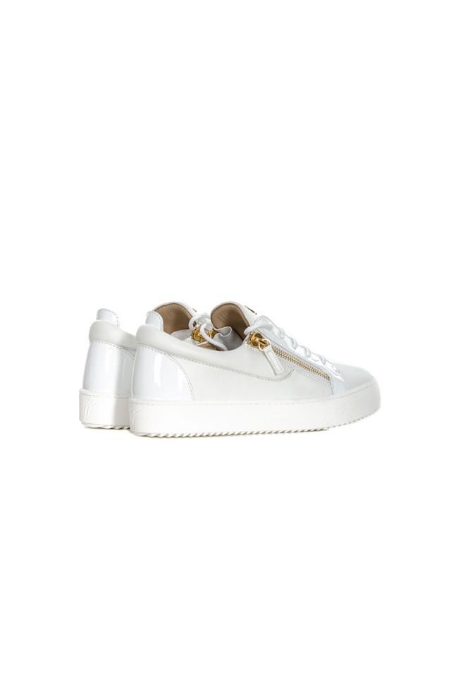 Sneakersy białe MAY LONDON GIUSEPPE ZANOTTI