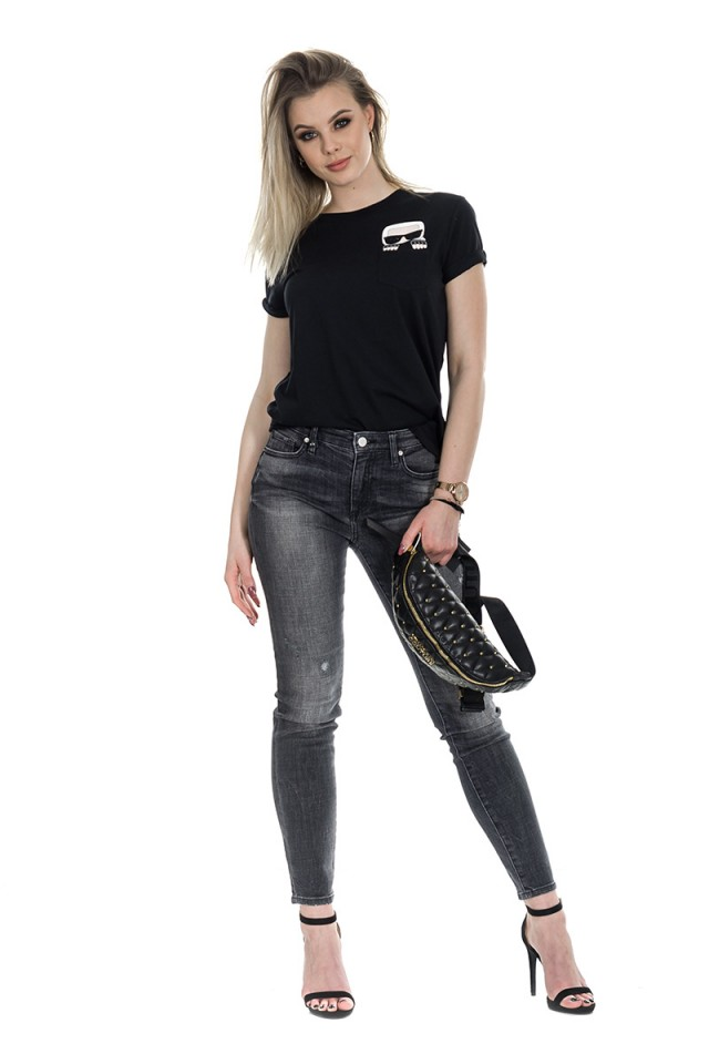 Nerka z logo VERSACE JEANS COUTURE