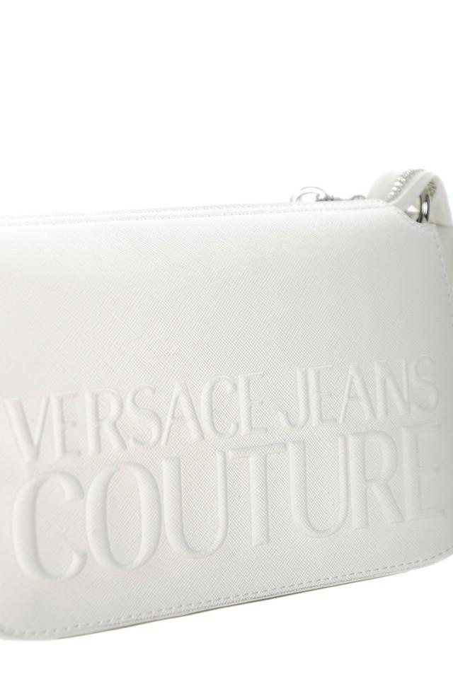 Torebka biała z logo VERSACE JEANS COUTURE