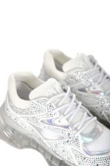 Sneakersy białe RUBINO DIAMOND PINKO