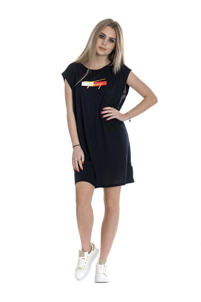 Sukienka z logo T-SHIRT DRESS TOMMY HILFIGER
