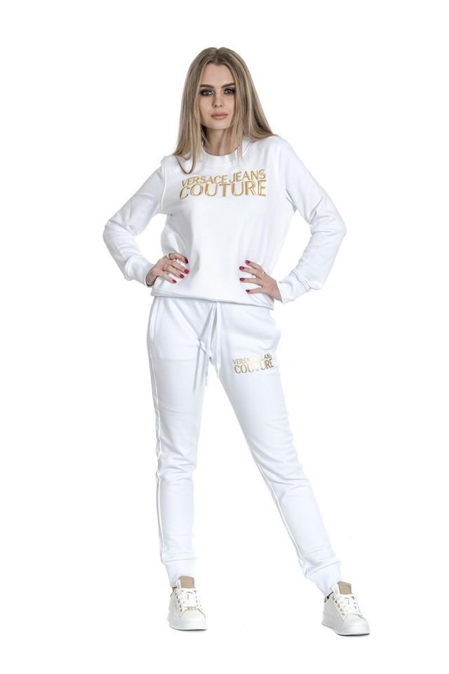 Bluza wkładana z logo biała VERSACE JEANS COUTURE