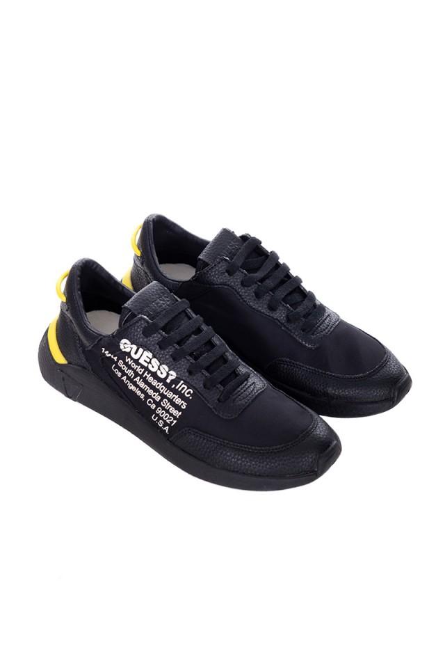Sneakersy z logo GUESS
