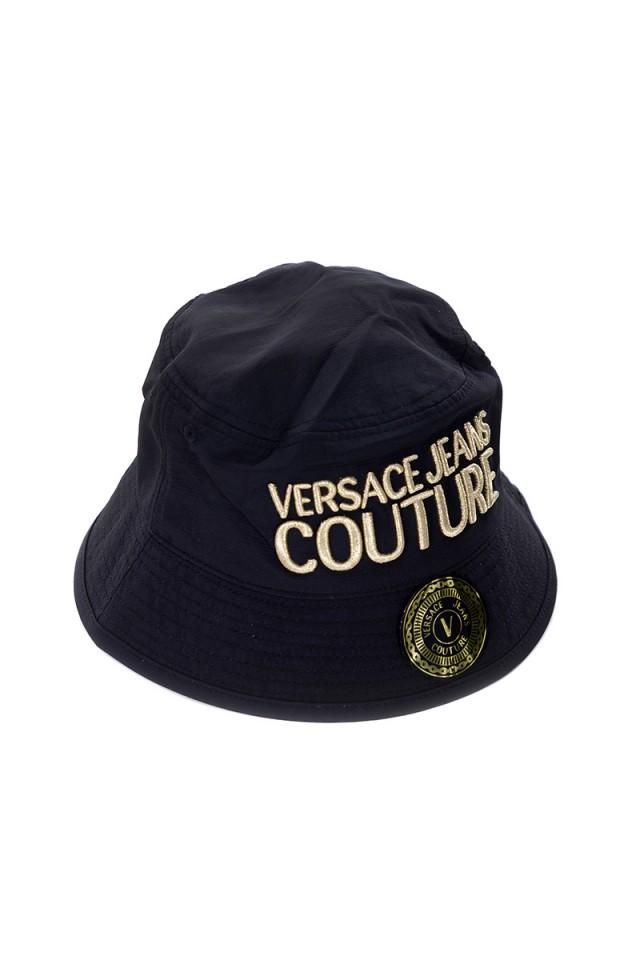 Czapka z logo VERSACE JEANS COUTURE