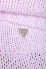 Szorty materiałowe z metalowym logo GUESS