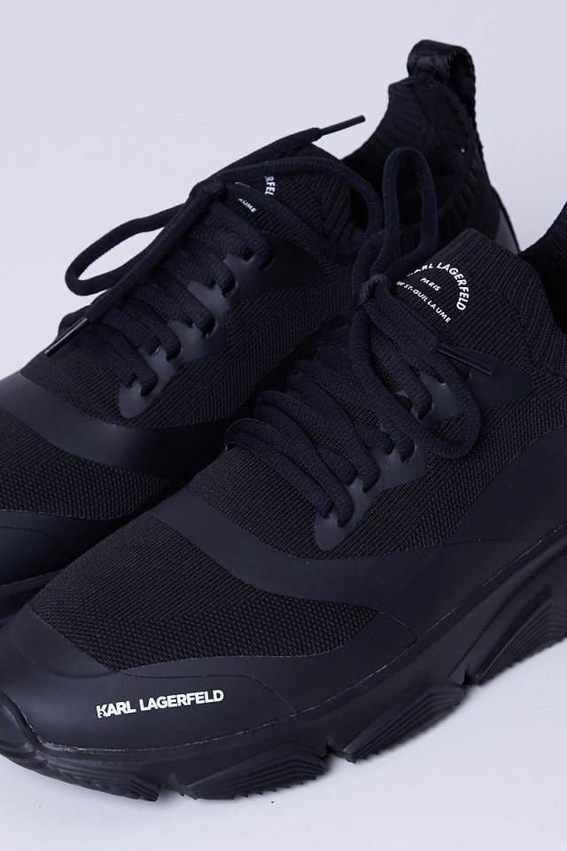 Sneakersy czarne MAISON KARL KNIT KARL LAGERFELD