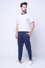Spodnie dresowe granatowe z logo TOMMY JEANS