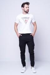 Spodnie materiałowe typu JOGGER GUESS