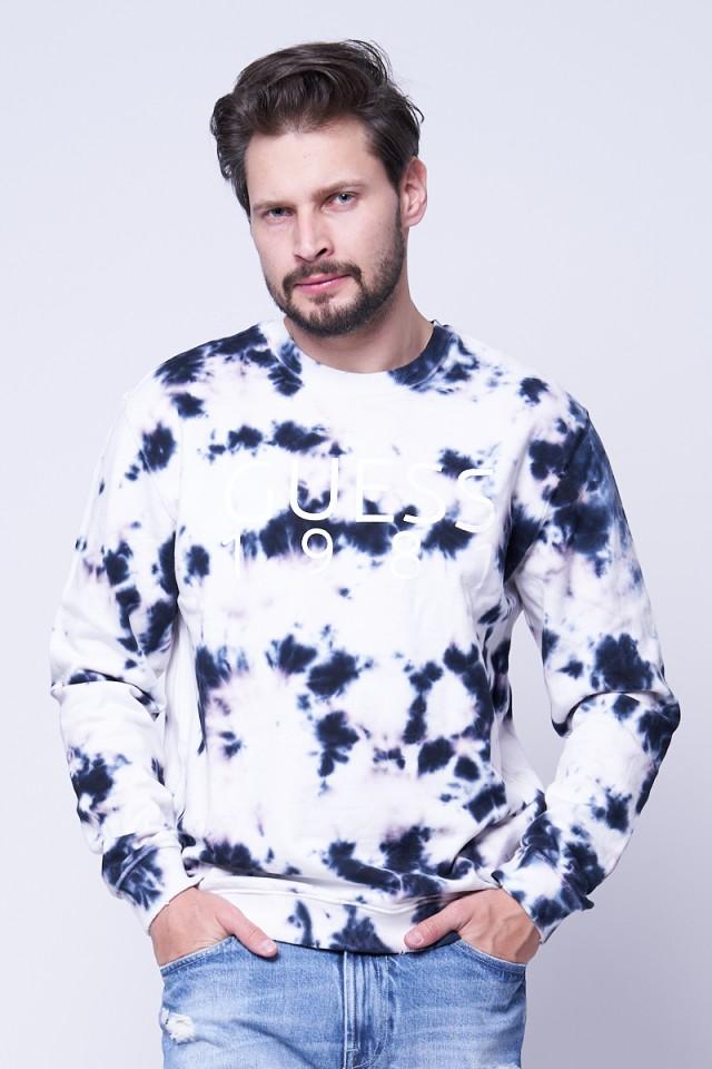 Bluza wkładana z efektem TIE DYE GUESS