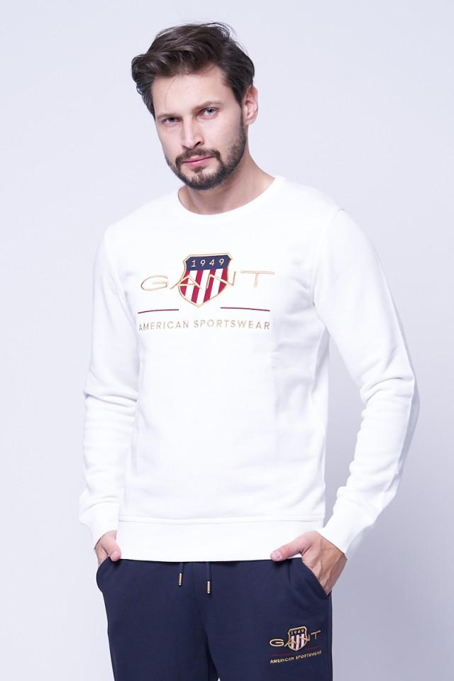 Bluza wkładana z logo GANT