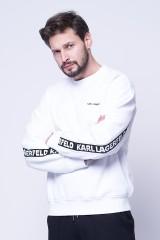 Bluza wkładana LOGO TAPE KARL LAGERFELD