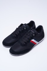 Sneakersy czarne ESSENTIAL MESH TOMMY HILFIGER