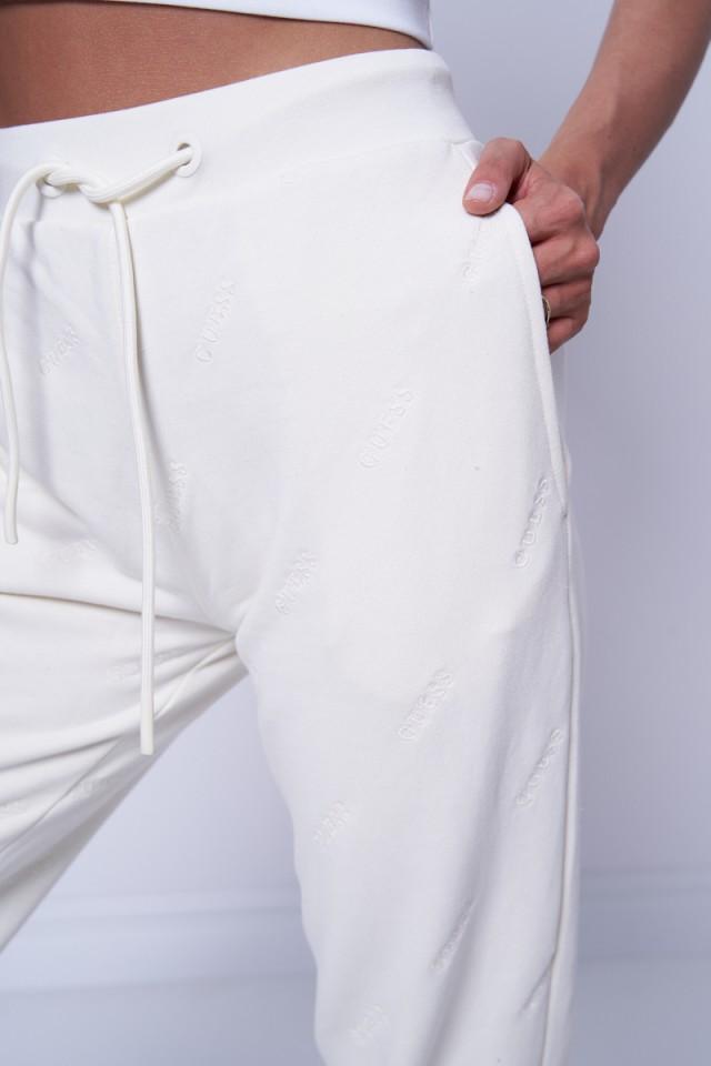 Spodnie dresowe w logo GUESS