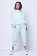 Spodnie dresowe mięta LOVE ME JOANNA MUZYK