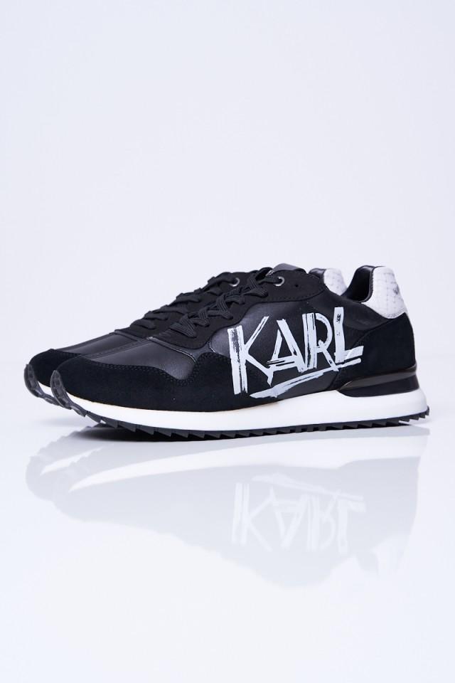 Sneakersy GRAFFITI VELOCITOR KARL LAGERFELD